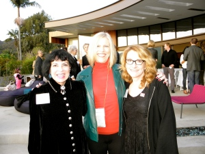 Me, Karlyne Greenko, and her sister, USA Fellow in Music, Claire Lynch.